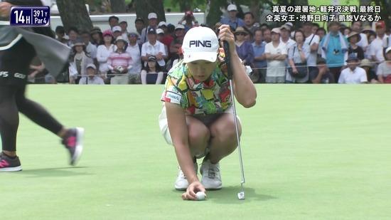 ゴルフパンチラ10
