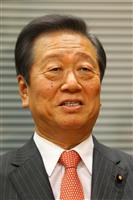 自由党の小沢一郎代表(大西正純撮影)