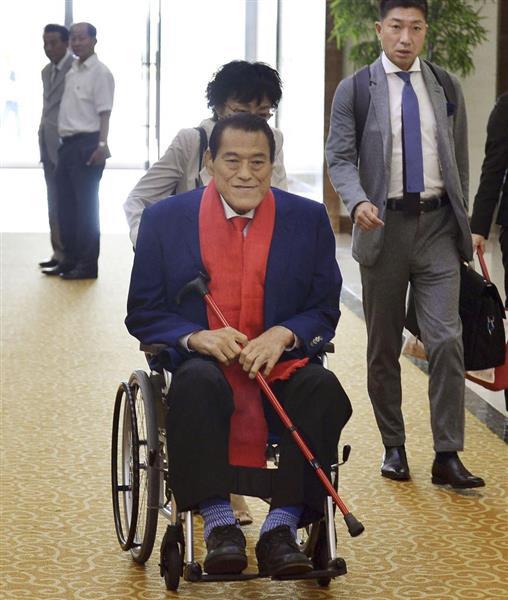 アントニオ猪木氏が北朝鮮入り 建国70年行事に参加 - 産経ニュース