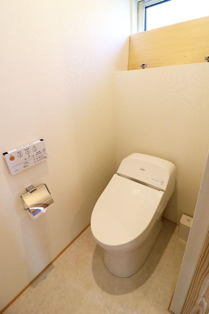 AKITA×DESIGN STANDARD300 由利本荘モデルハウス トイレ
