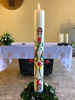 Osterkerze St. Michael 2020