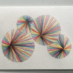 Nr 16 Kreise bunt