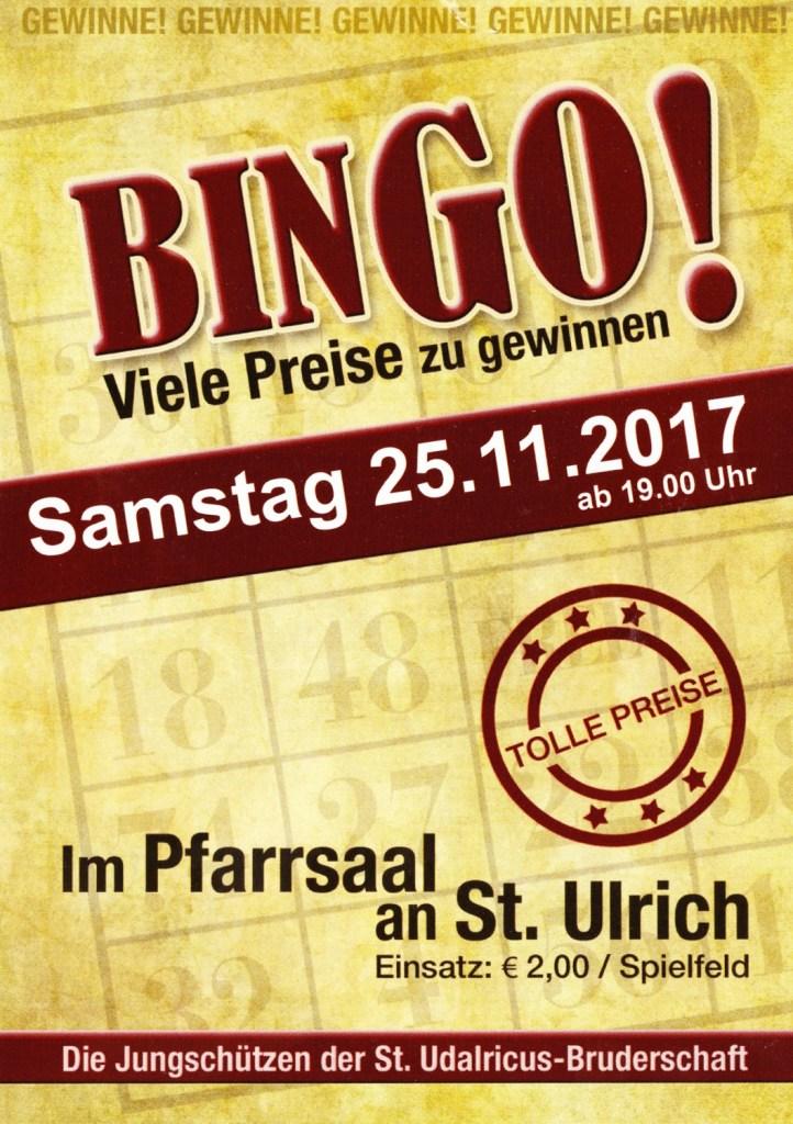 Flyer Bingo-Abend