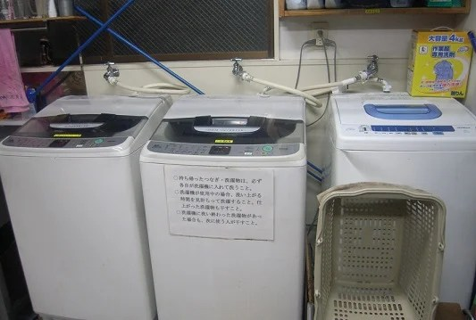 洗濯機3台