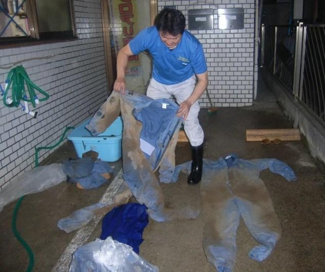 鈴木さん洗濯