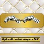 Hydraulic swivel couplers 360°-2