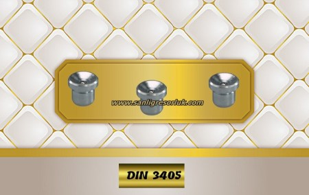Flush Type greasenipple type N (D1a) DIN 3405 180° zinc-plated