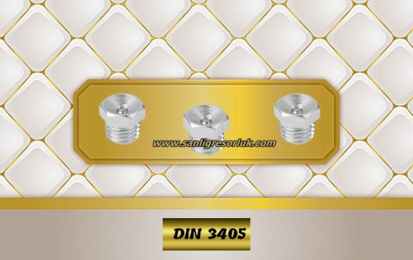 Flush Type greasenipple type L (D1) DIN 3405