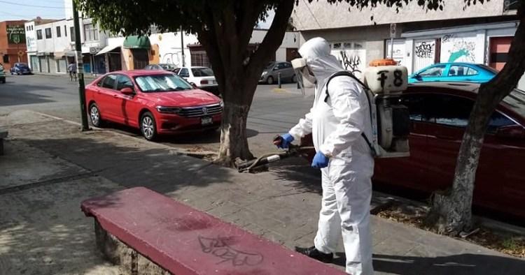 Gobierno de la capital, mantiene sanitización en todo el territorio
