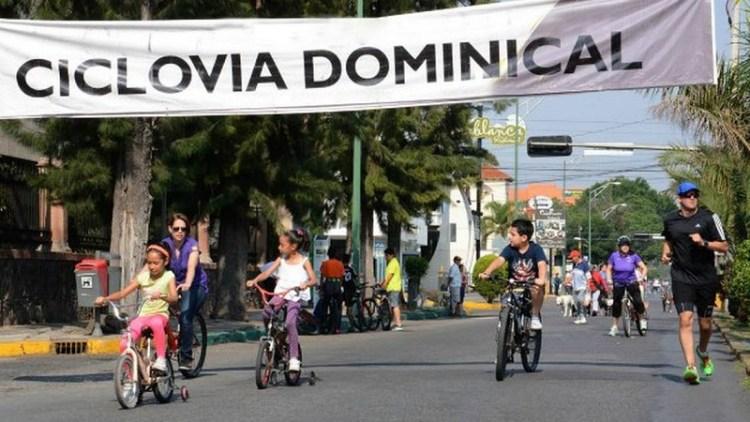 Gobierno Municipal analiza conveniencia de reactivar ciclovía dominical
