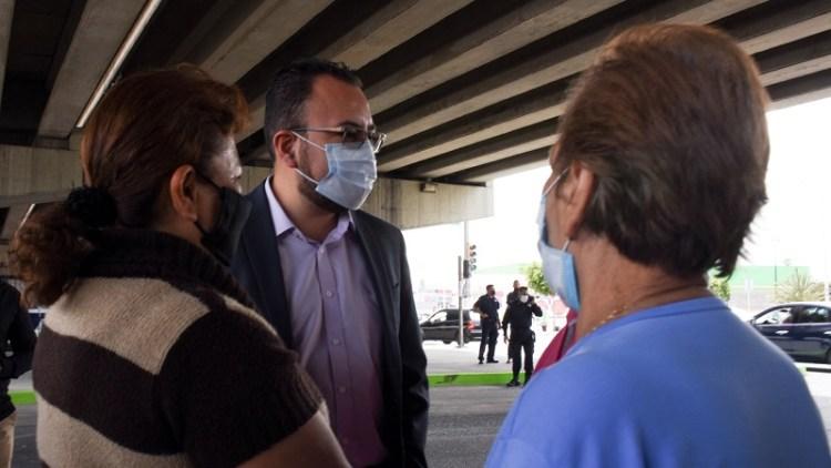 Alcalde informó que se sostienen reuniones con la Secretaría del Bienestar para llevar a cabo la vacunación en el municipio