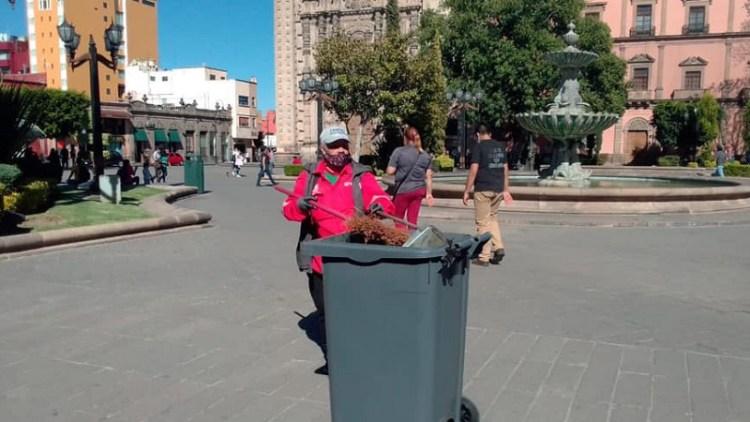 Se intensifican trabajos de limpieza en el Centro Histórico