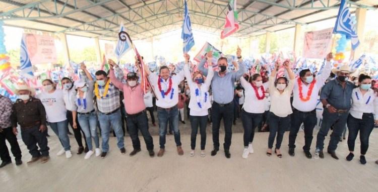 Octavio Pedroza cumple 30 días de campaña con las mejores propuestas para SLP