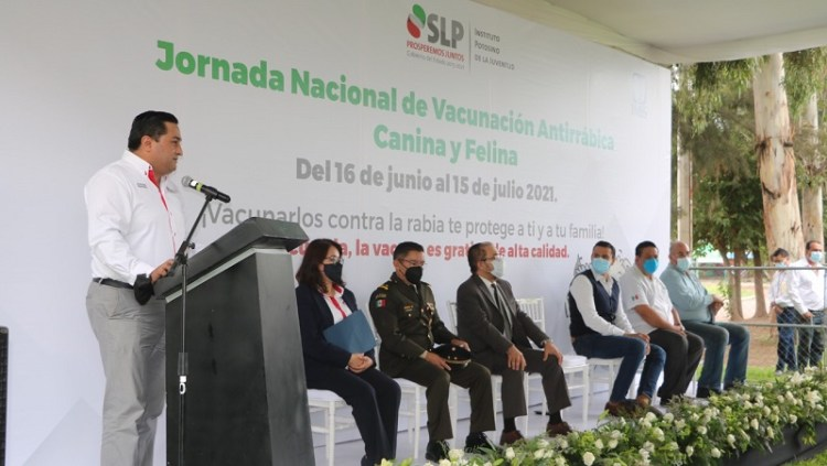 Arranca la Jornada Nacional de Vacunación Antirrábica Canina y Felina 2021