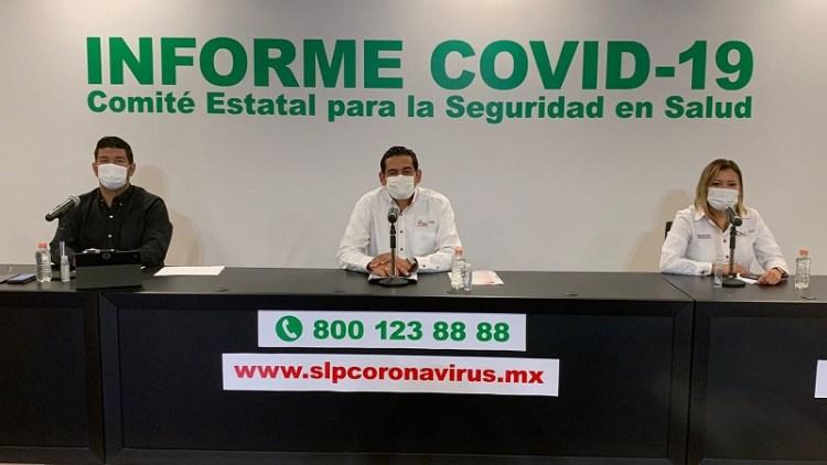 Secretaría de Salud Federal ubica a SLP en semáforo naranja de alto riesgo de contagio