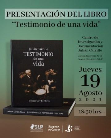 """Presentación virtual del libro """"Julián Carrillo. Testimonio de una vida"""""""