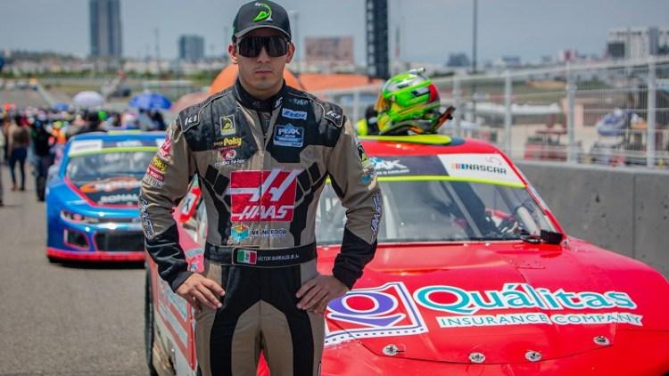 Victor Barrales Jr. cerró con top-5 en NASCAR Challenge - Querétaro