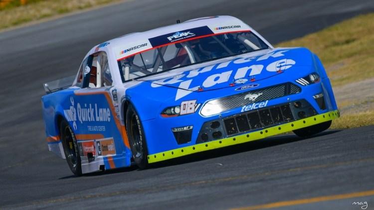 Sanción complicó a Rubén Ortiz en NASCAR Challenge Monterrey