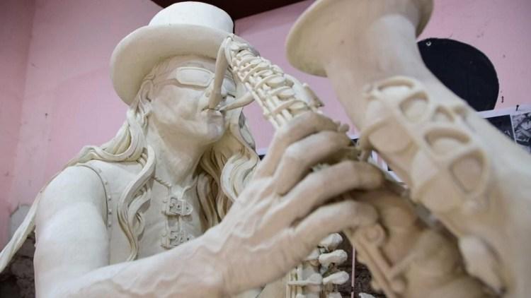 En el marco del 254 aniversario de la fundación de Soledad de Graciano Sánchez se develará estatua de Sax