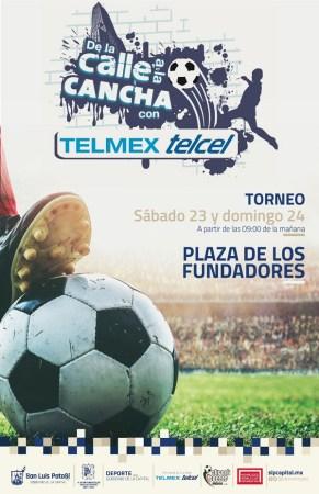 """Inicia el torneo de futbol Street Soccer """"De la Calle a la Cancha"""" 2021"""