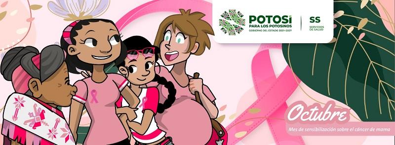 Octubre, mes de la sensibilización sobre el cáncer de mama