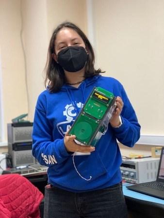 """Alumna de Ingeniería Biomédica-UASLP participó en """"International Summer Space Camp 2021"""""""