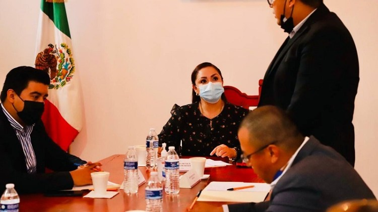 Alcaldesa de Villa de Reyes solicita que sea sede de la Mesa Regional de Seguridad.
