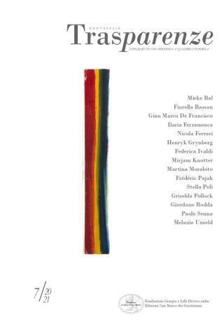 trasparenze charlotte salomon copertina rivista