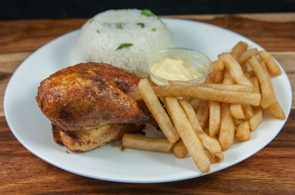 19. 1/4 Chicken