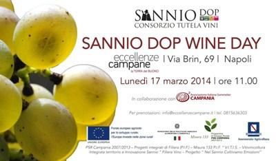 Sannio DOP Wine Day  17 marzo 2014
