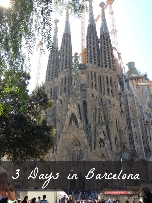 Three day itinerary for a Barcelona visit