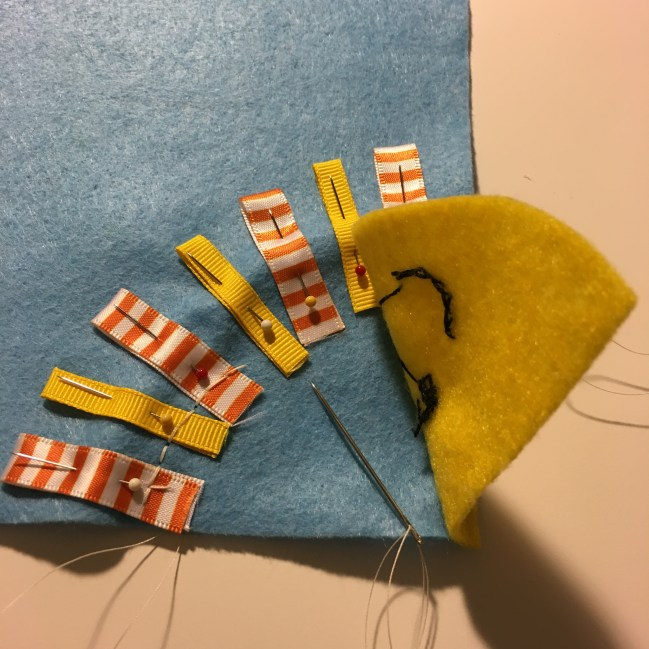 Sewing a busy book by hand. Free patterns!