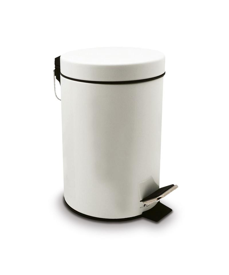 poubelle a pedale en plastique 50l