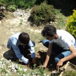 Sagar-aryal-guiding-students-for-plantation