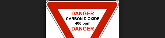 Threat to our Future : CO2 Concentration above 400 ppm!