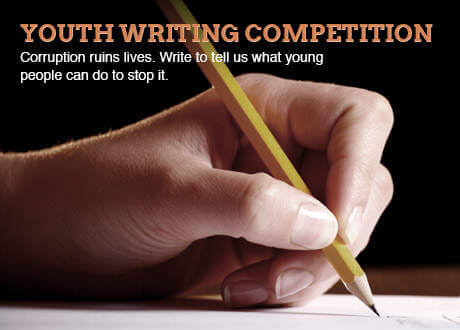 Writing Competition: Transparancy International
