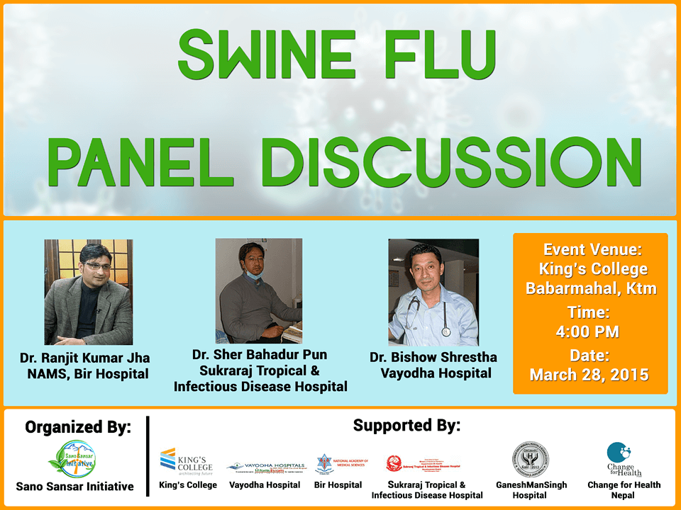 Panel Discussion Swineflu