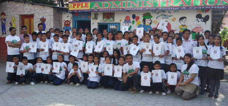 Plant for the Planet Academy held in Tinkune, Kathmandu