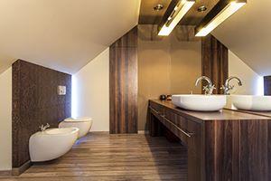 Тривиални плочки в банята