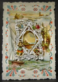 Валентинка от края на 19 век