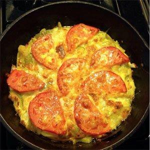 Зеленчуков омлет