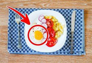 Яжте айца за закуска