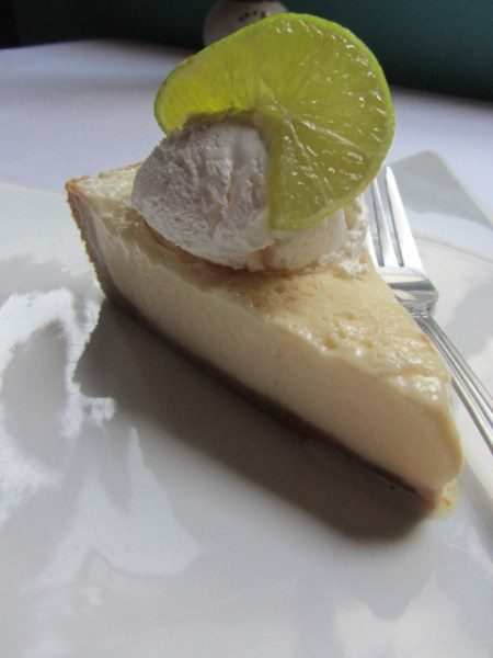 Limes in their best possible incarnation - Caye Lime Pie at Elvi's Kitchen