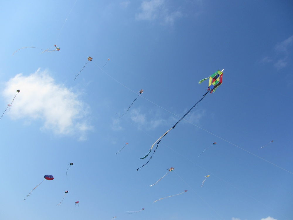 There were lots of different categories and prizes for kids and adults. From box kite to singer kite…I learned a few new kiting terms. And some…like moonie, ...