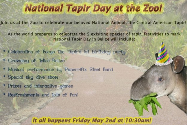 national tapir day 2014