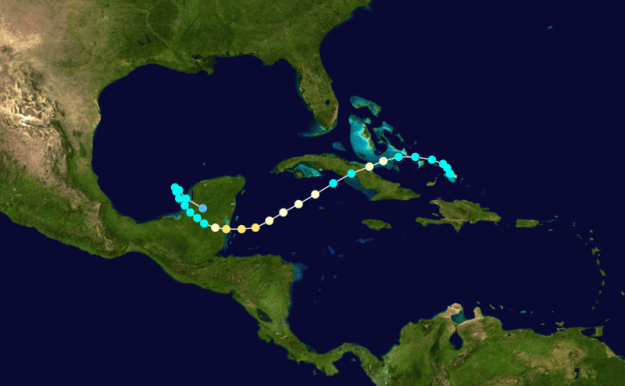 1942_Atlantic_hurricane_11_track