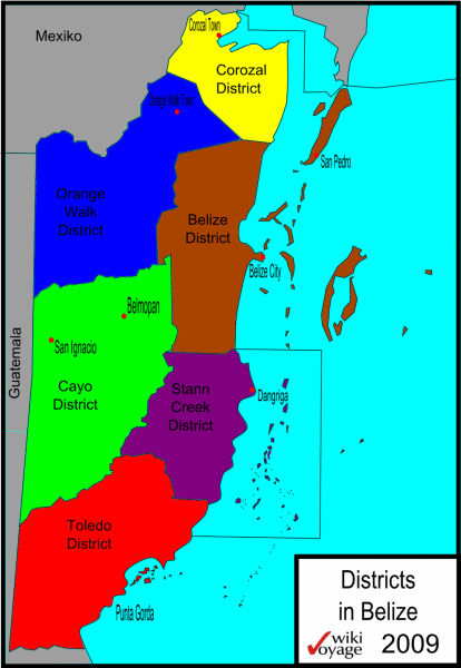 Belize_Districts