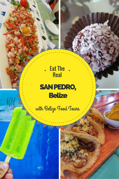 Belize Food Tours takes you on an amazing Eating Tour of San Pedro, Belize