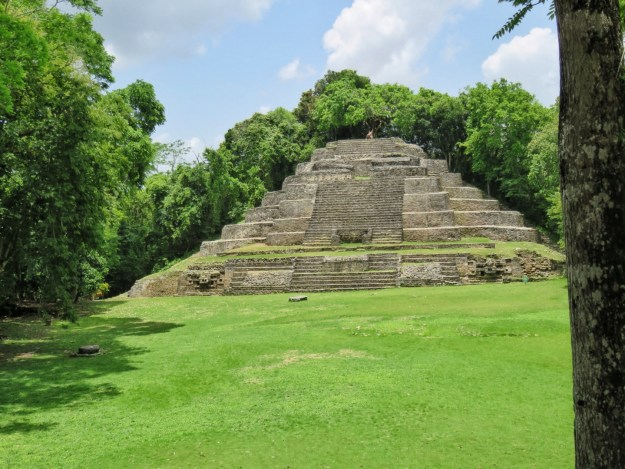 The Jaguar Temple, Lamanai, Belize