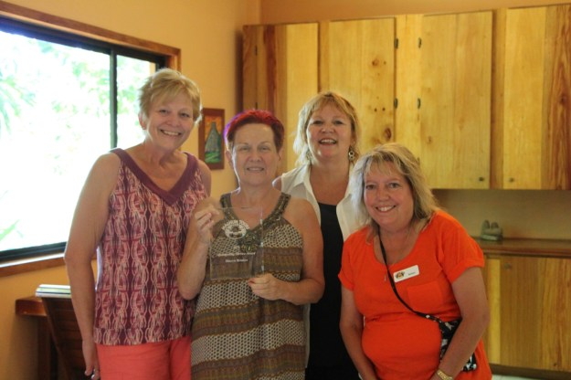 sharyn-mariposa-lodge-award